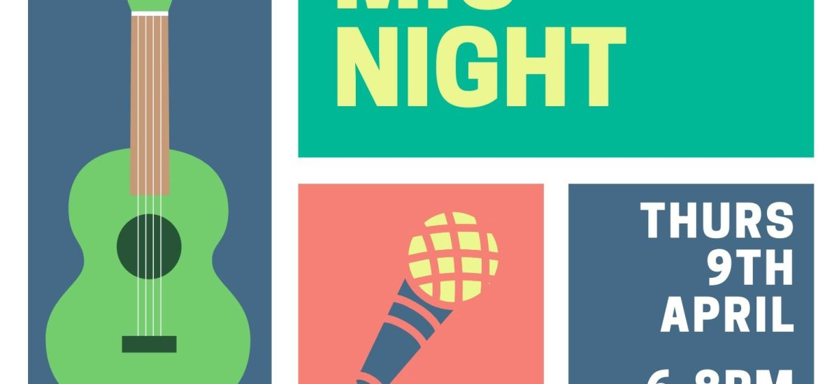 Mustard Tree Open Mic night