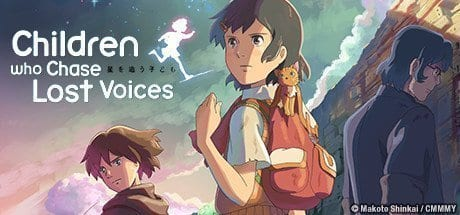 Poster Image of Children Who Chase Lost Voices, a anime movie about a little girl who doesn't understand death.