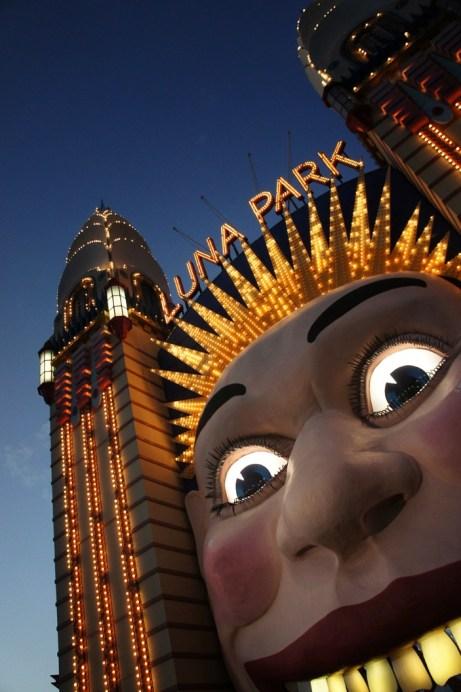 Luna Park at Dusk