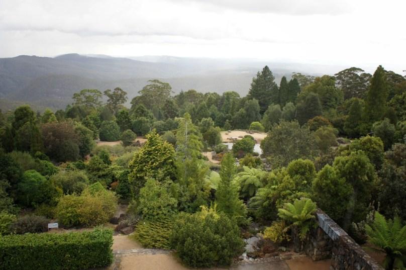 overlooking the Botanical Gardens