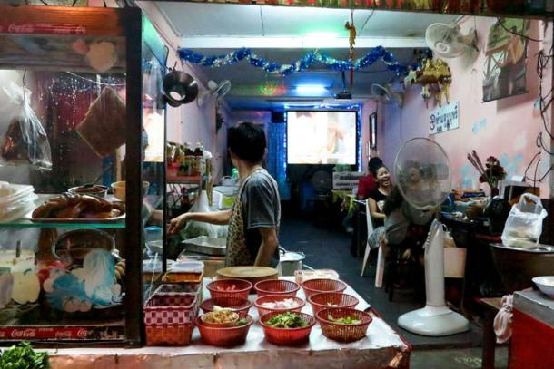 Thai Street Food inspiration for Yam Thai
