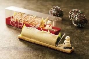 東京‧南青山的甜點店「UN GRAIN」雪人聖誕樹幹蛋糕開始接受預訂!