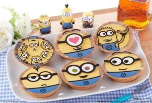 繽紛可愛的小小兵 香蕉巧克力塔♡3月27日起於日本MINISTOP限量販售
