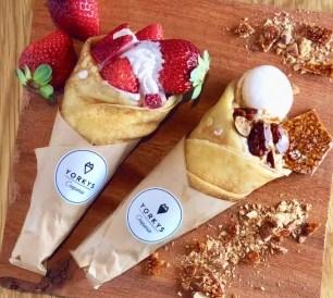 可麗餅專售店「YORKYS Creperie」3月28日開幕♡以鬆軟的餅皮呈現出熱賣鬆餅的美味