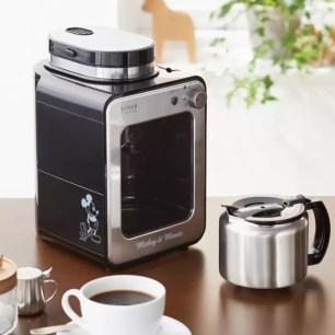 從磨豆開始都可以放心交給它☆迪士尼設計款「全自動咖啡機」