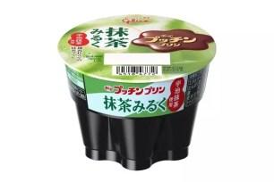Glico固力果「Pucchin布丁 抹茶牛奶口味」抹茶X煉乳新口味上市!