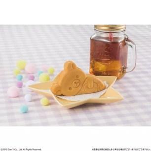 可愛的慵懶側躺造型甜點「Q彈可口懶懶熊燒」11月6日起LAWSON開賣!