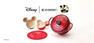 鍋具品牌「LE CREUSET」米奇90周年紀念款✩限定典藏鍋具&餐具