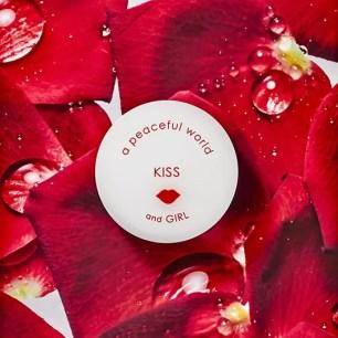 """提升好感度香氛系列♡「a peaceful world」固體香水♫ 雜誌聯名款 """"KISS"""""""