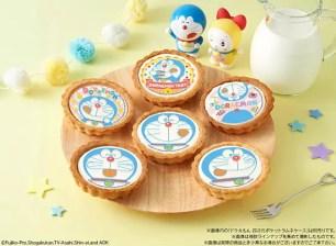 6種俏皮吐舌的哆啦A夢圖案~「哆啦A夢起司塔」日本全國AEON集團店鋪販售中