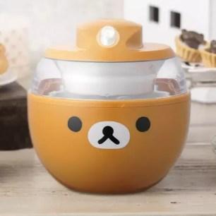 輕輕鬆鬆享用自製冰淇淋♡貝印「冰淇淋製作機 懶懶熊Rilakkuma」