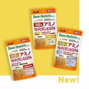 """日本朝日Asahi旗下品牌""""Dear-Natura""""營養補助食品☆袋裝版更便利"""