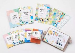 HITOTOKI文具品牌新商品☆便攜成冊型&貼紙型態「紙膠帶BOOK」