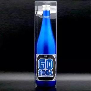 祝SEGA迎接60歲生日!耀眼藍色金屬周年紀念日本酒「GO SEGA SEGA60周年」