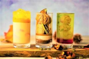 東京‧表參道「Deli & Cafe Blue Globe Tokyo」3種秋季限定玻璃杯裝甜點