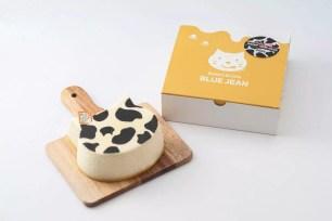 大阪‧梅田「Ironeko起司MOW」♡期間限定乳牛花紋舒芙蕾起司蛋糕