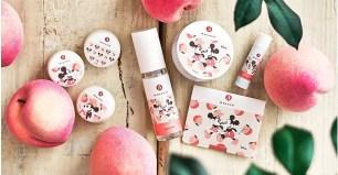 清甜蜜桃香氣♡「MAKANAI cosmetics」x「Disney Store」共同企劃商品