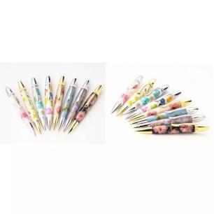 讓人不禁出聲讚嘆的美感!運用日本傳統工藝的手工製押花原子筆「Flower Pen」