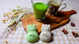 日本上尾製菓☆送禮自用兩相宜~抹茶、焙茶雙口味「貓咪忍者茶卡布奇諾」