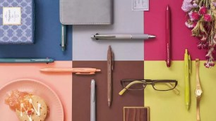 質感單色調設計~三菱鉛筆「JETSTREAM Happiness Color」系列♪數量限定上市