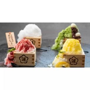 神戶市天然溫泉旅館「神戶湊溫泉 蓮」4種口味「鬆綿刨冰(fuwakoori)」期間限定販售