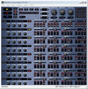 Freeware Groove Drum Station DT-011