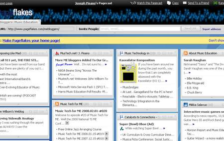 Picture of the Pageflakes RSS Feeds