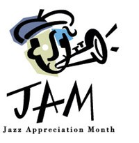 Jazz Appreaciation Month Logo