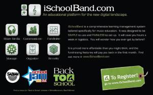 iSchoolBand Front Flyer
