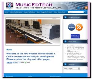 MusicEdTech Site