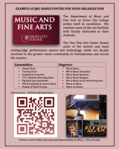 Grove City Advertisement-QR Example