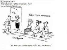 Substitute-Comic