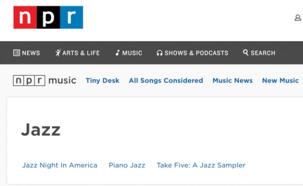 National Public Radio Jazz