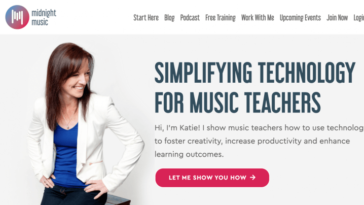 Midnight Music - Katie Wardrobe -Music Education and Music Teacher Blogs