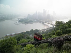 pittsburgh incline photo - communication