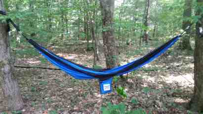 Gnar Hammock in the Woods
