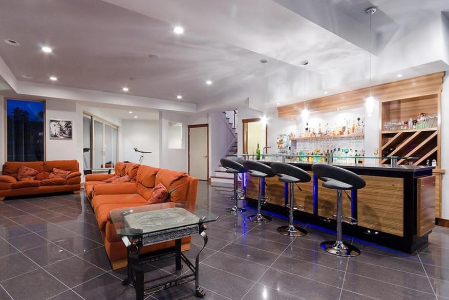 basement kitchenette bar ideas