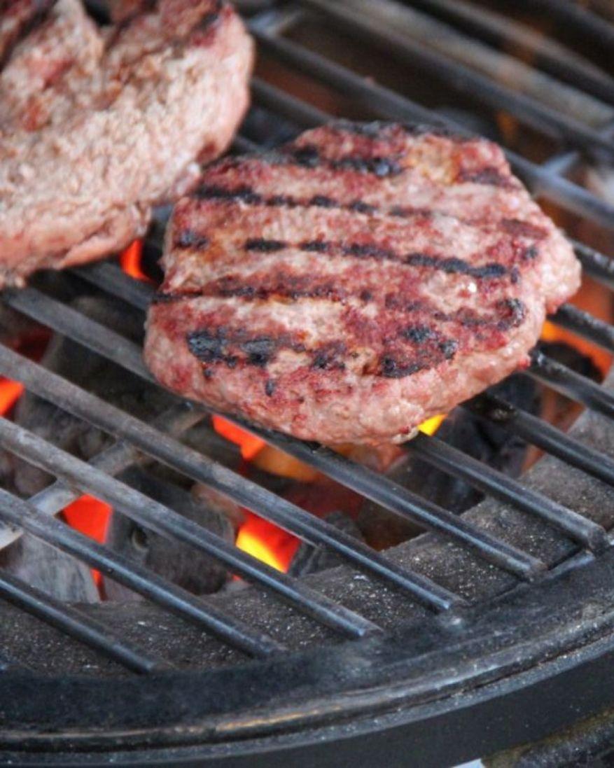 cook frozen hamburger
