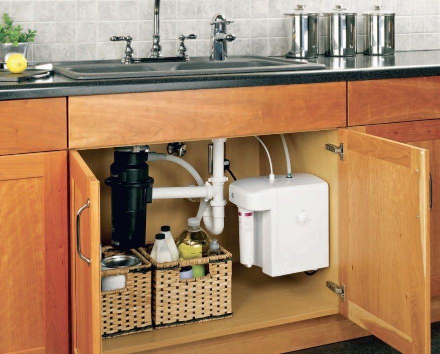 kitchen sink leaking around edges