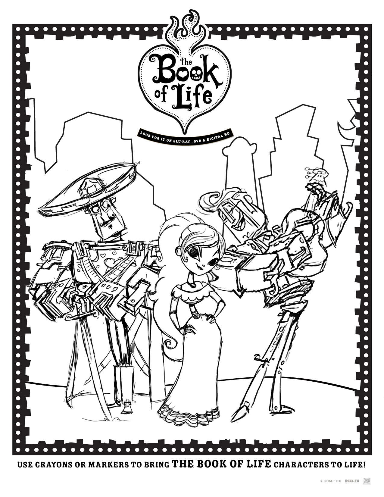 The Book Of Life Free Printables Giveaway