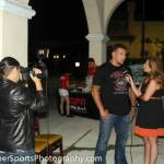 Susan Cingari interviewing UFC fighter Frank Mir