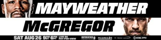 mayweather mcgregor boxing mma fight