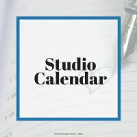 Important dates in the studio