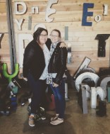 My best friend and I at the Market