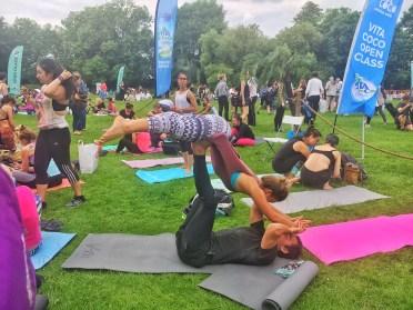 International Yoga day Acro Yoga