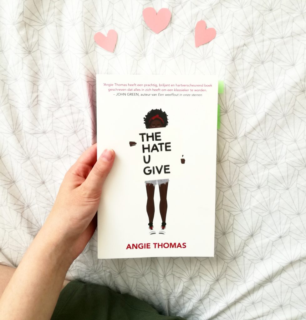 The Hate u Give Angie Thomas boekcover