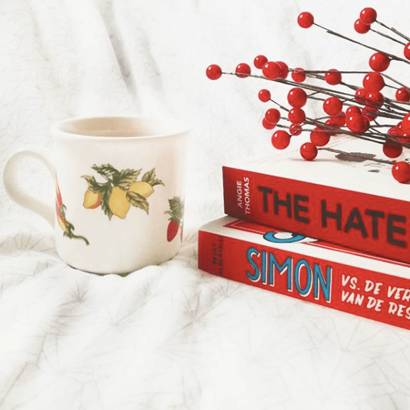 nieuwe boeken Simon VS Becky Albertalli The Hate U Give Angie Thomas