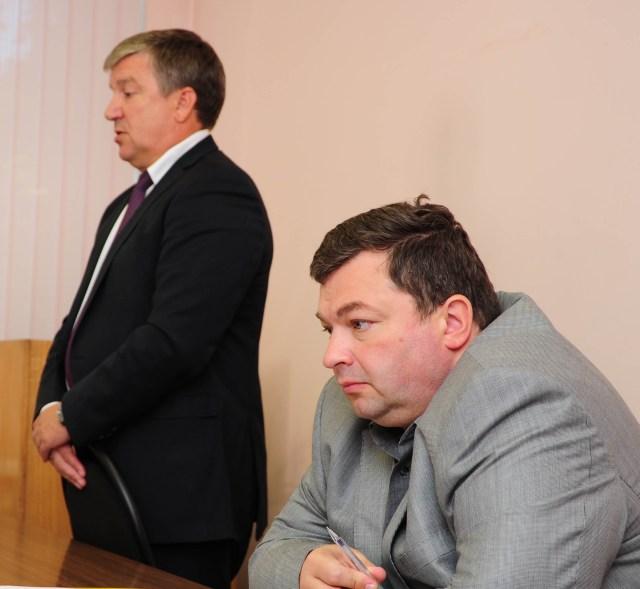 Олег Громов и Александр Худилайнен. Фото: Губернiя Daily