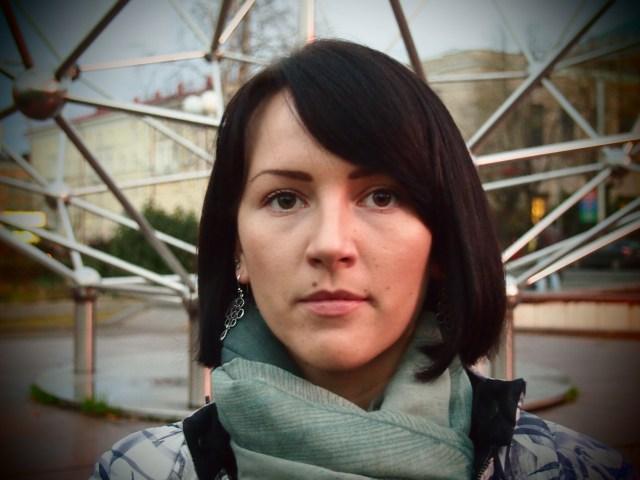 Надежда Шумихина, организатор митинга в поддержку Евгении Сухоруковой. Фото: Валерий Поташов
