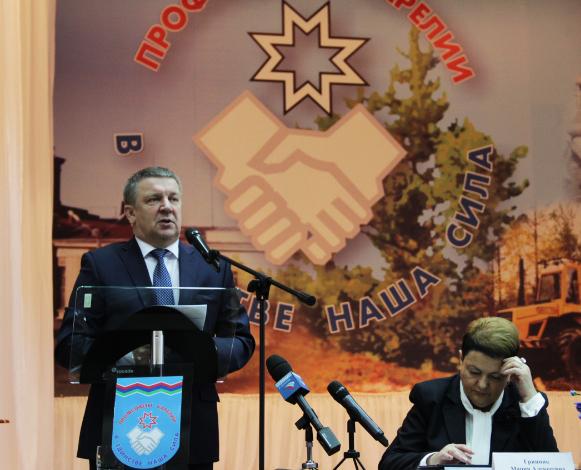 Глава Карелии попытался убедить профсоюзы в стабильности ситуации в республике. Фото: Анна Романова
